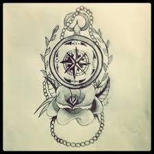 """Résultat de recherche d'images pour """"old school compass tattoo"""""""