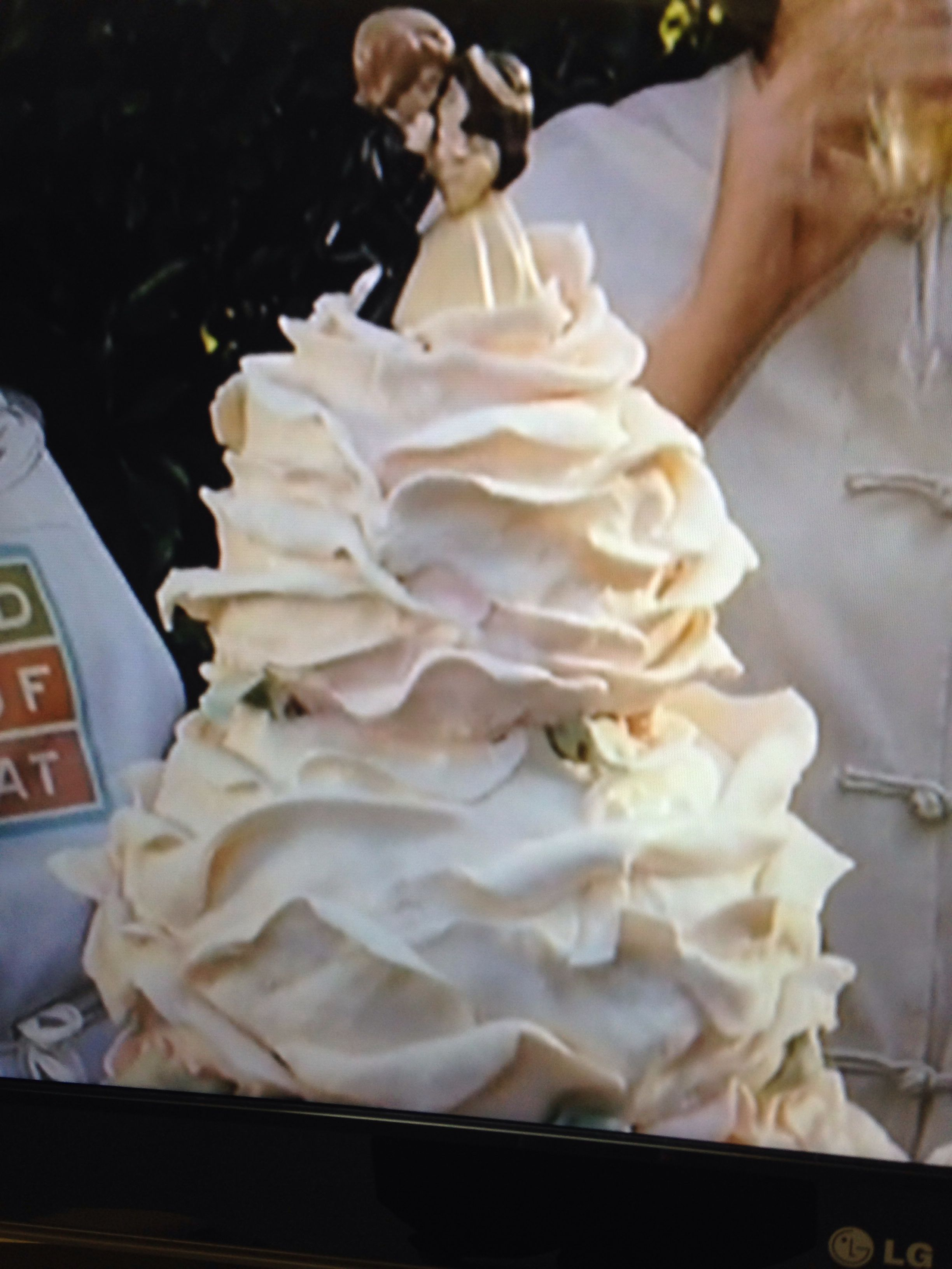 Wedding cake-- from because I said so - movie