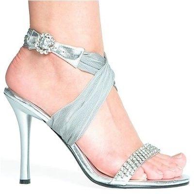 025946714e Zapatos Fiestazapatos De Zaragoza Mujerzapatos Bodas Plateada Sandalia  XHRxPt