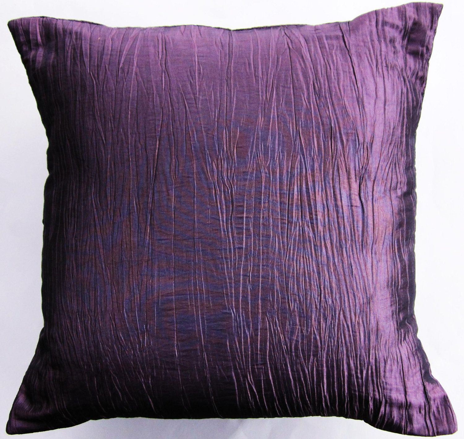 pillow satin purple d cor toss accent smocking cover home cushion throw sale pin pillows decorative canadian textured