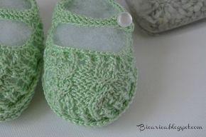 Como hacer patucos para bebé tipo sandalia paso a paso