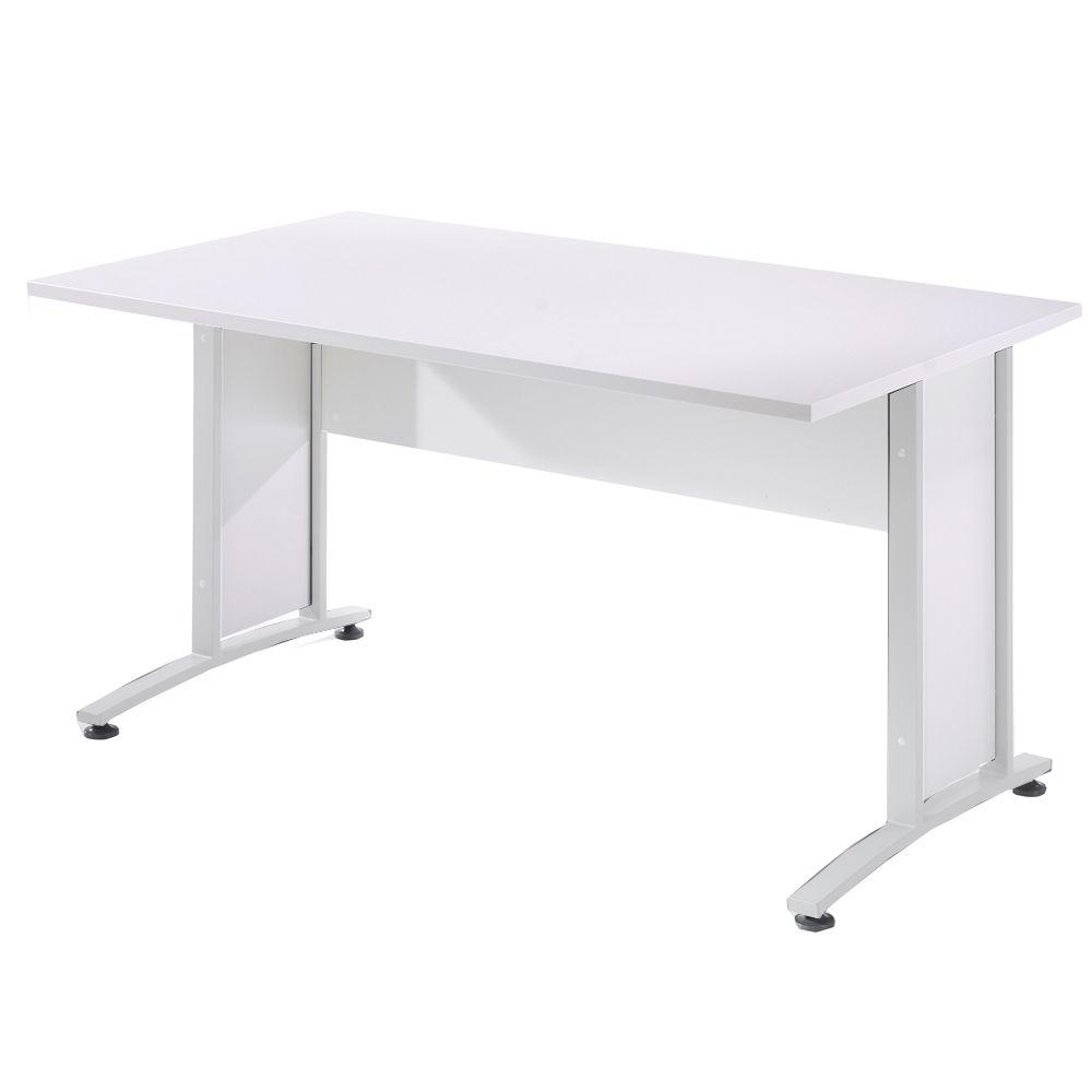 Bürosystem Prima Schreibtisch 150x80 cm Weiß Weiß Jetzt bestellen ...