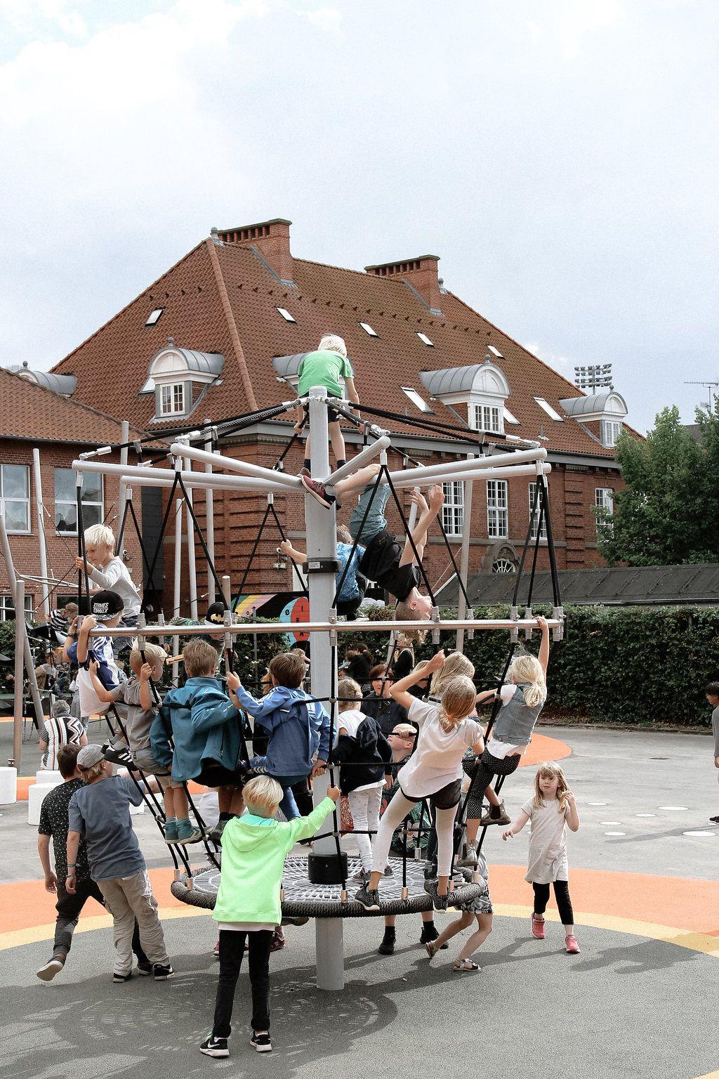 Absalons Skole I Roskilde Indvielse Af Ny Legeplads Fra Elverdal