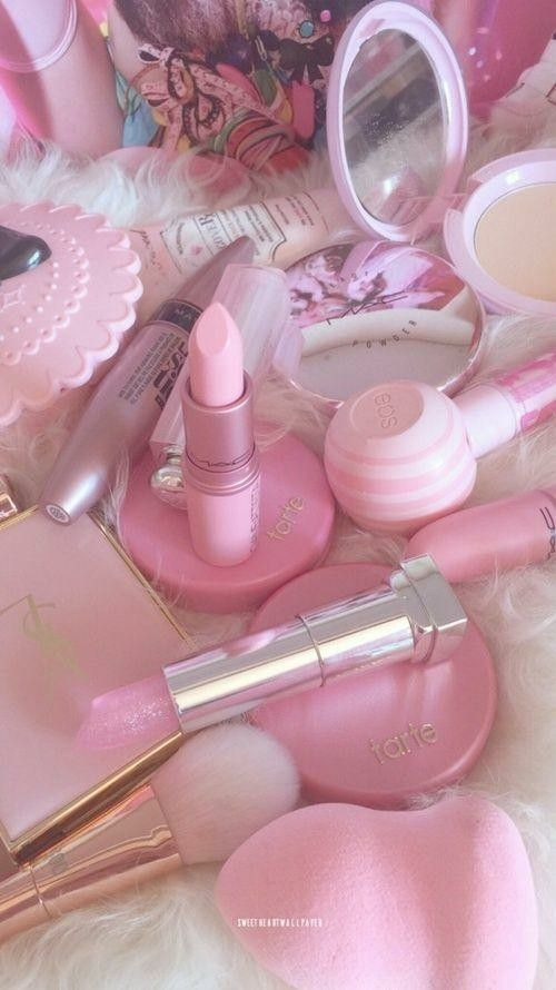 Beauty Makeup Girly Pink Aesthetic Pastel Pink Aesthetic Pink Makeup