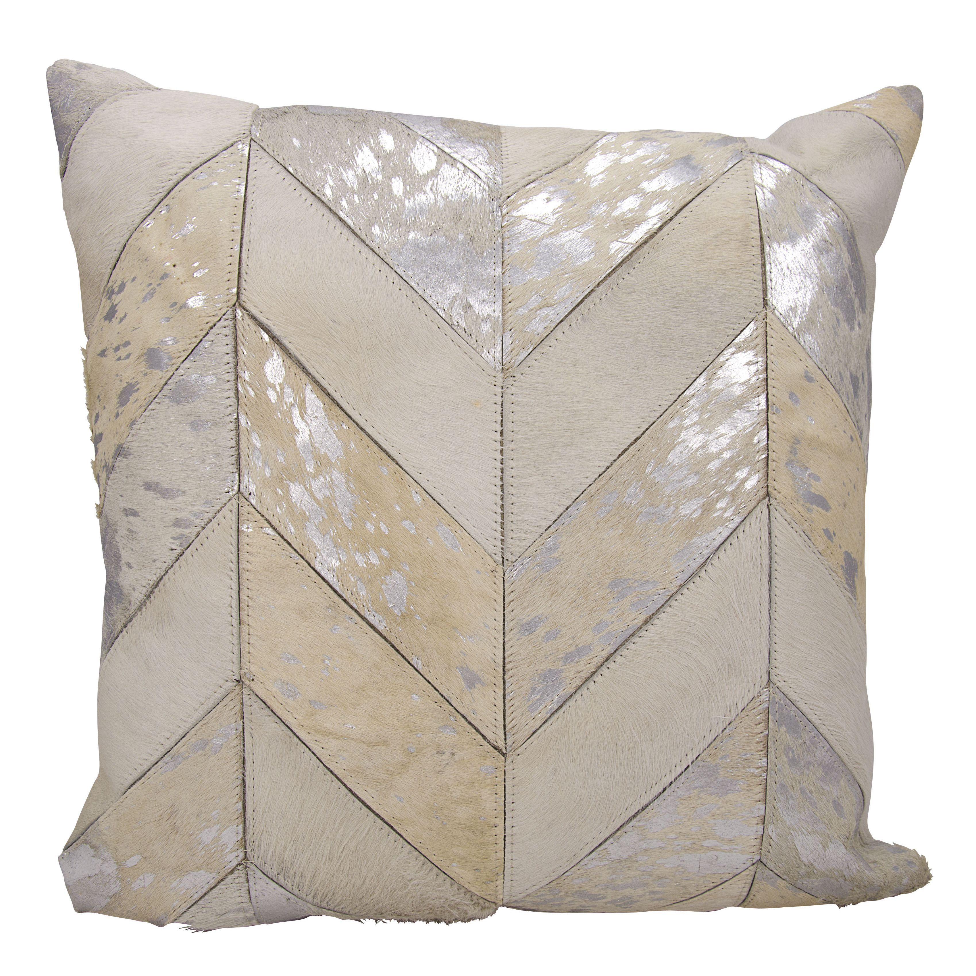 kathy ireland by nourison silver throw pillow kathy ireland