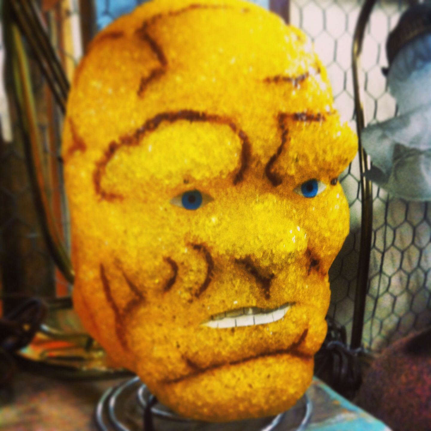 Ben Grimm (the Thing) glow lamp