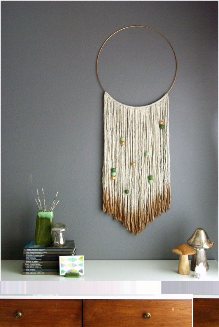 Textile wall art or tapestry has been adorning walls for centuries and now it is back in style. Reinvented, more modern and absolutely adorable the woven wall h