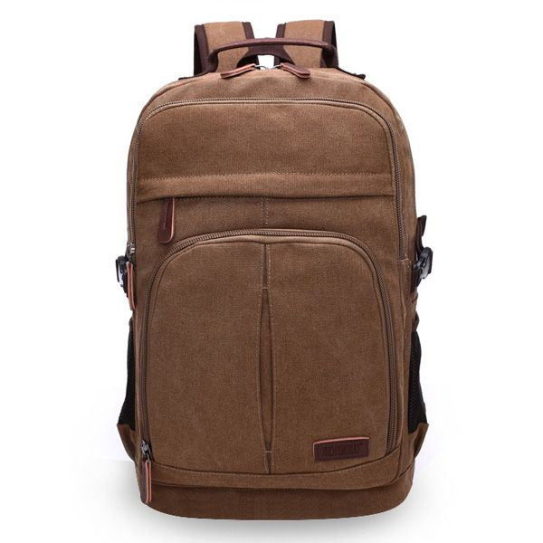 Mens Leisure Backpack Here is a sharp canvas leisure backtop