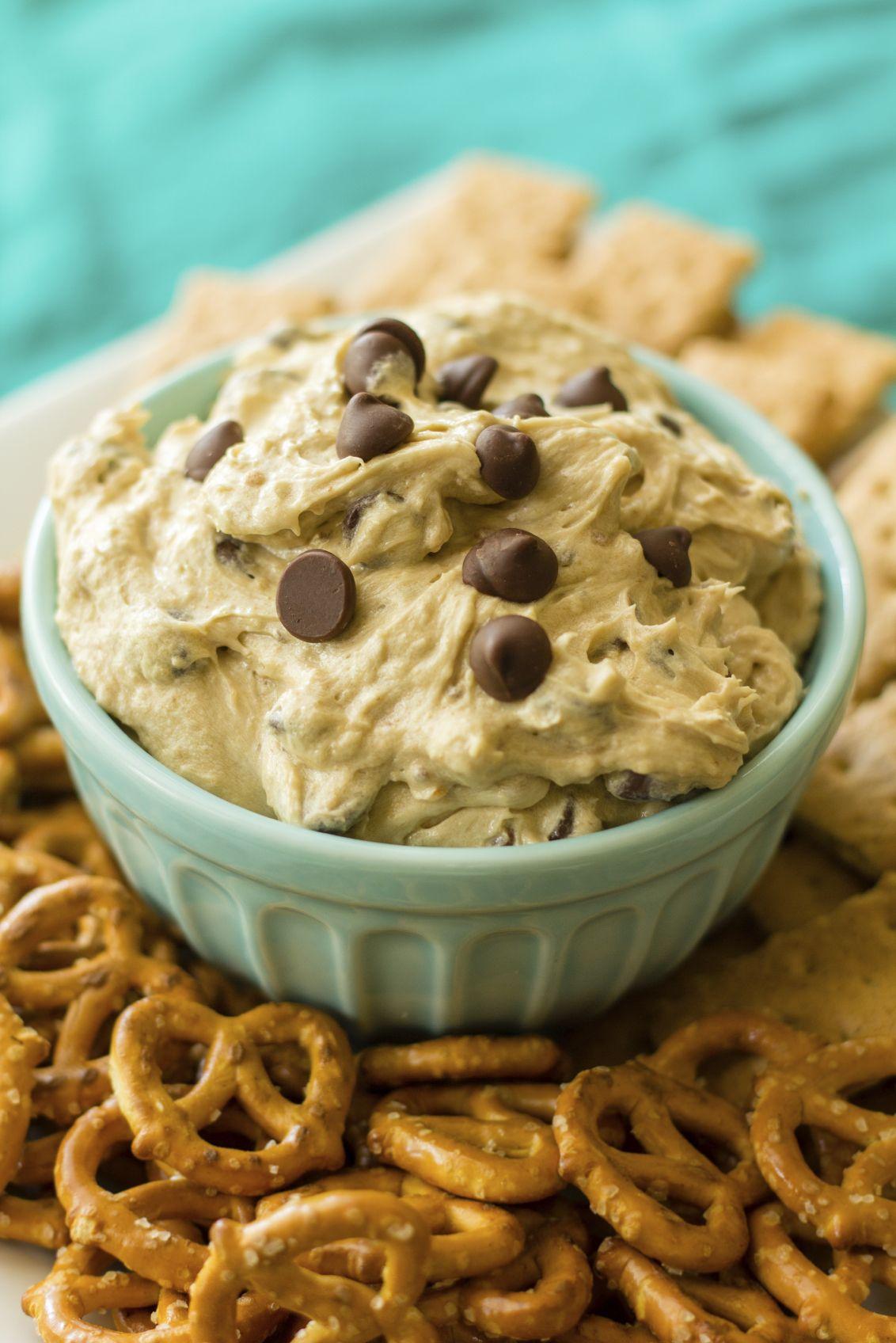 Trempette « biscuits aux brisures de chocolat »