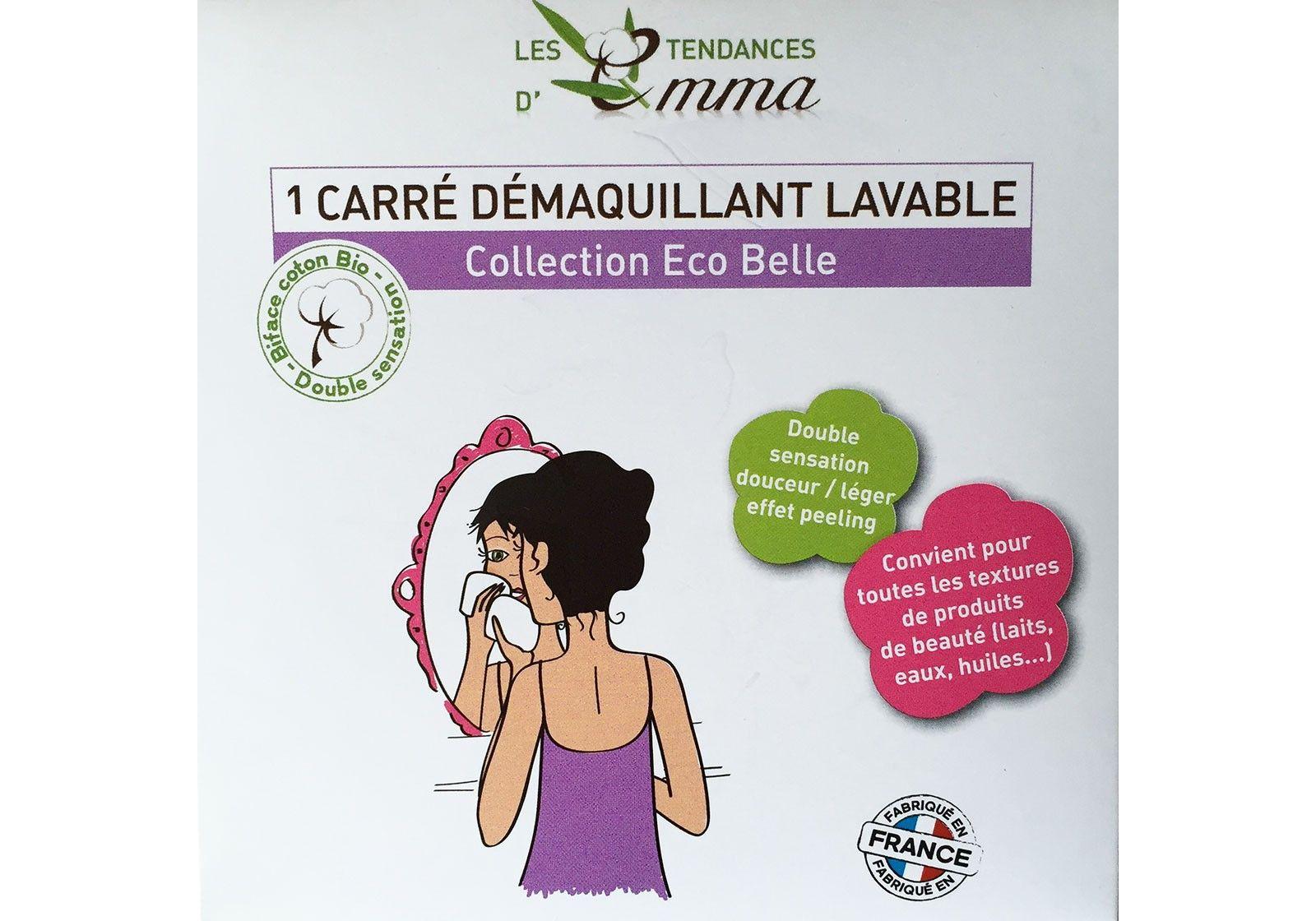 Doux Good - Les Tendances d'Emma - Kit-eco-belle-boite - dischi struccanti carrè demaquillant lavable