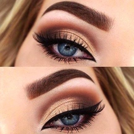Photo of 60+ Most Beautiful Gold Glitter Eye Makeup 💕 Inspirational Design for Prom 😊 – Diaror Diary
