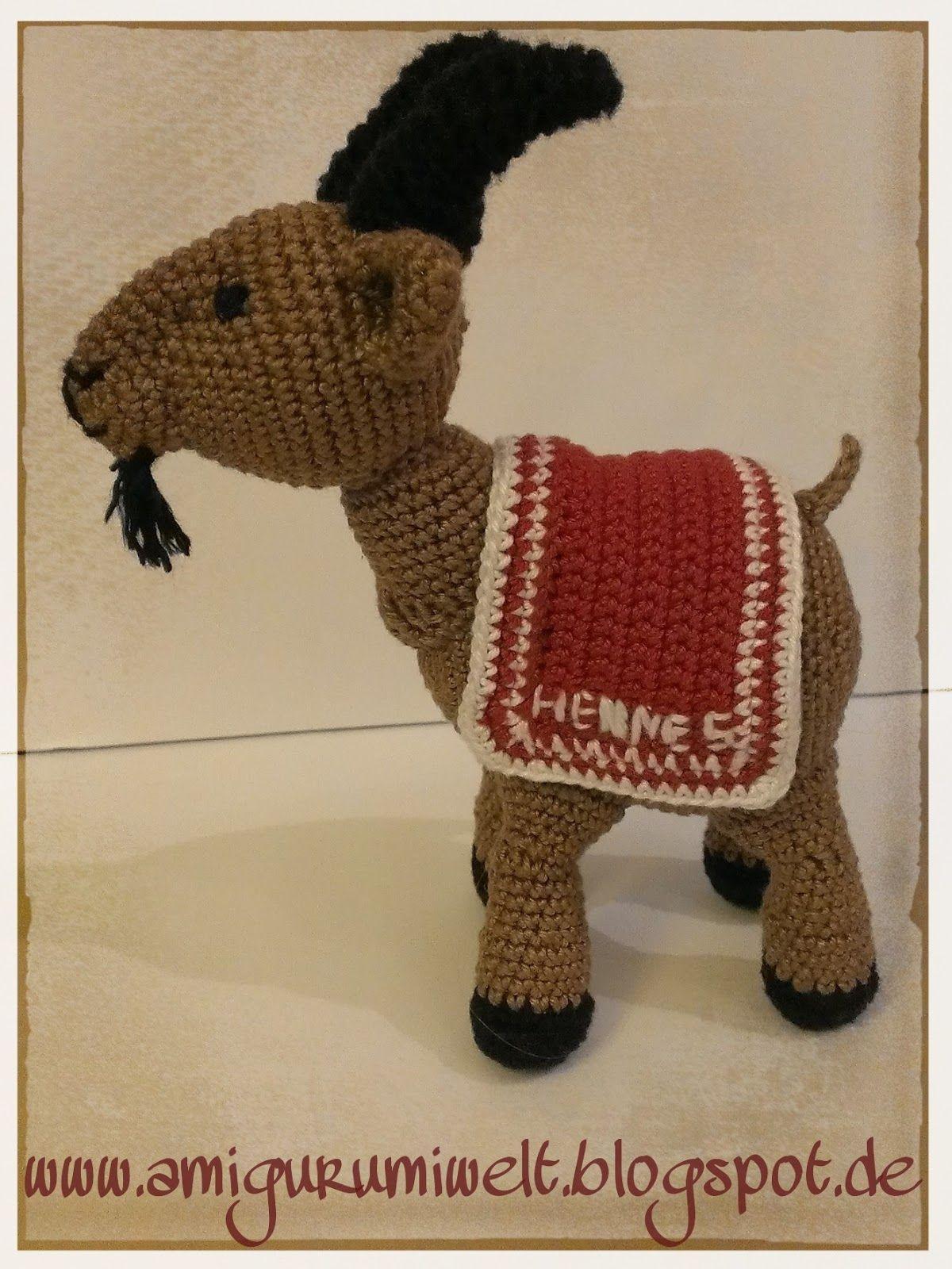 amigurumi geißbock hennes köln kostenlos crochet | Häkeln & Stricken ...