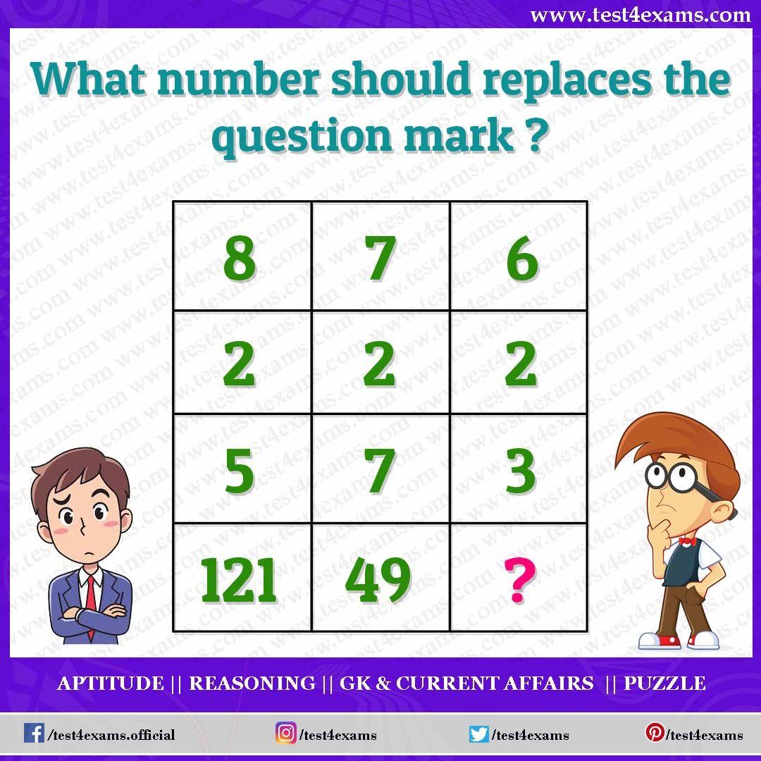 Solve The Math Puzzle Logic Question