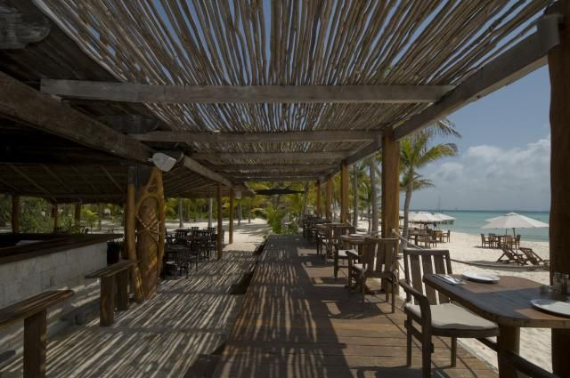 NaBalam on Isla Mujeres  - one of my favorite beach bars