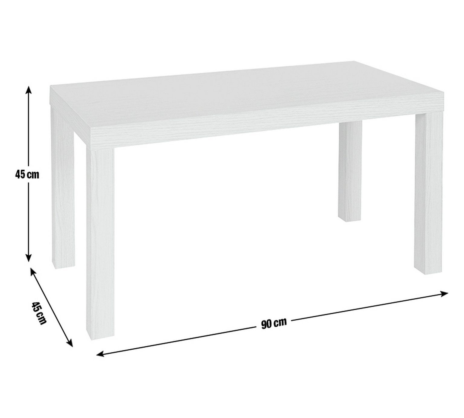 Buy Argos Home Coffee Table - White