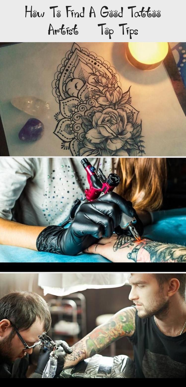 How To Find A Good Tattoo Artist – Top Tips - Tattoos -  #Geometricmandalatattoo #mandalatattooGirl #mandalatattooFinger #mandalatattooCalf   - #artist #disneytattoo #Find #Good #mandalatattoo #sunflowertattoo #tattoo #tattoofrauen #tattoos #tips #Top