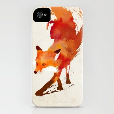 Red Foxes anyone? #marist #redfox Vulpes vulpes iPhone Case by Robert Farkas - $35.00