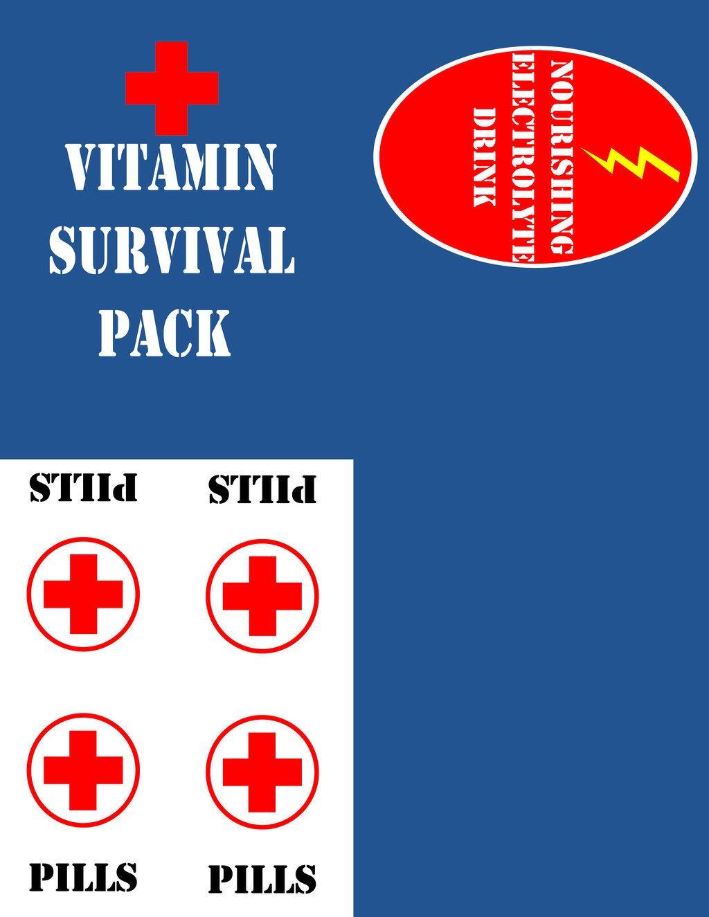 Zombie Survival Kit Part 3 Servival Pack By Kerrichan