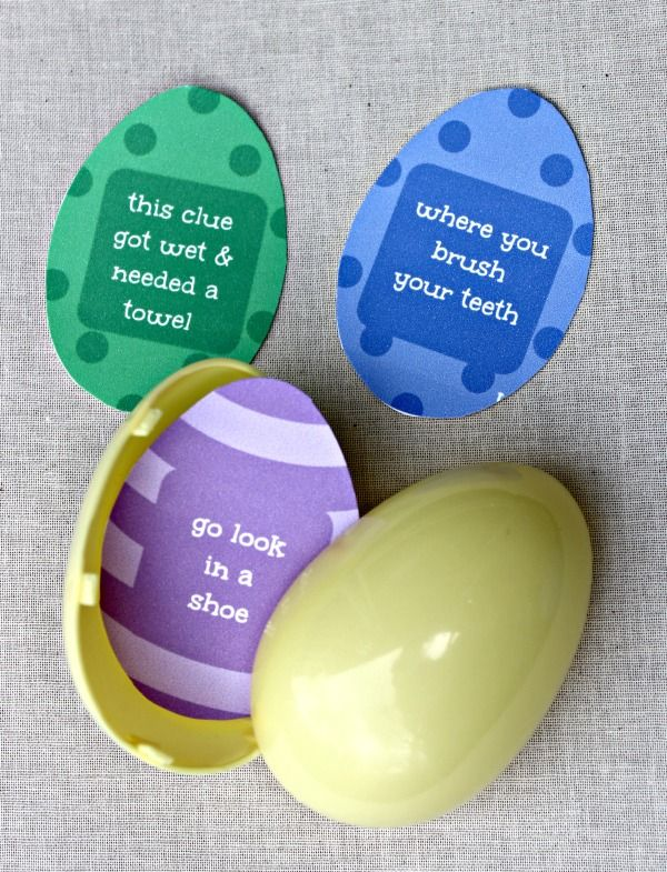 Easter egg hunt clues with free printable free printable easter egg hunt clues with free printable free printable easter and egg negle Choice Image