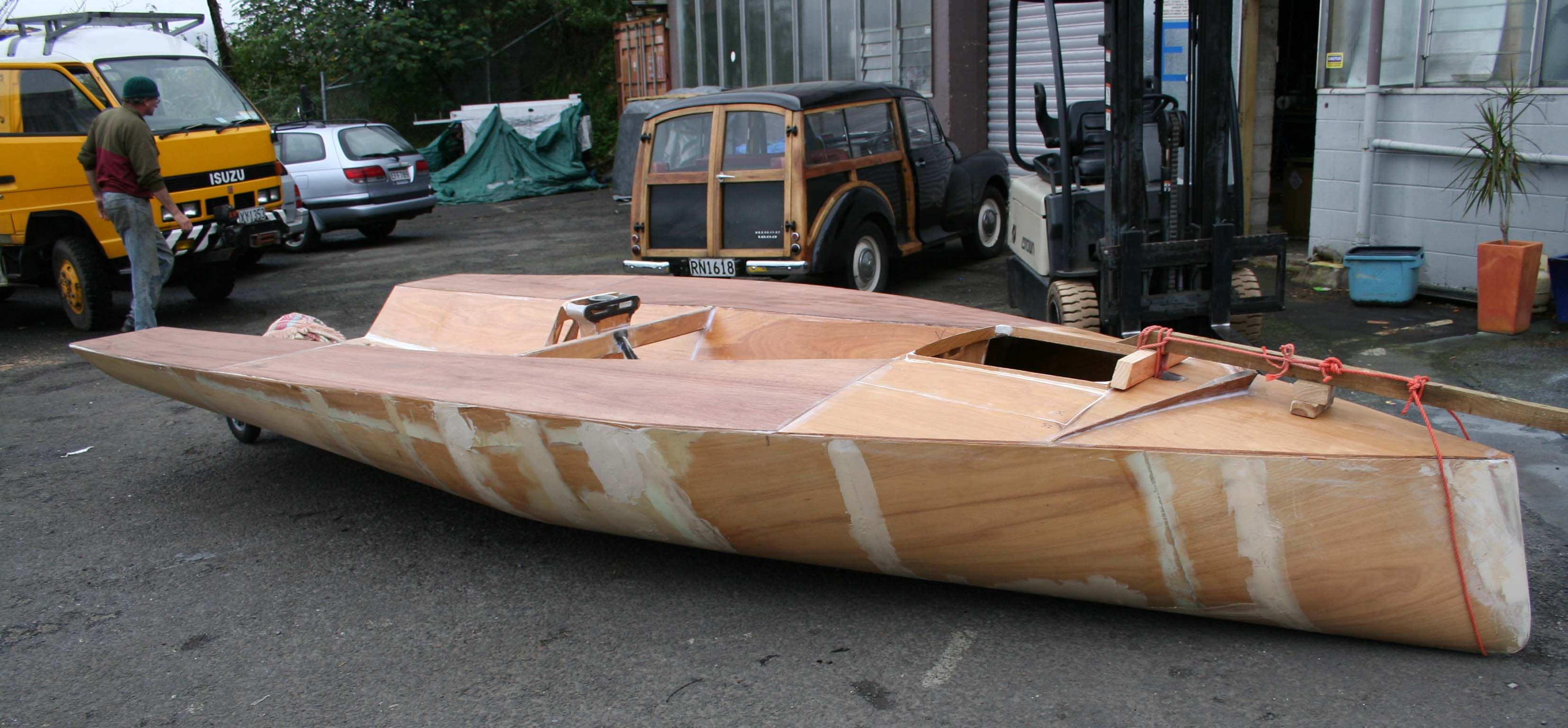 Plywood-Stitch-And-Glue-Boat-Plans-2.jpg (3308×1536)   Wooden boats   Pinterest   Boating, Boat ...