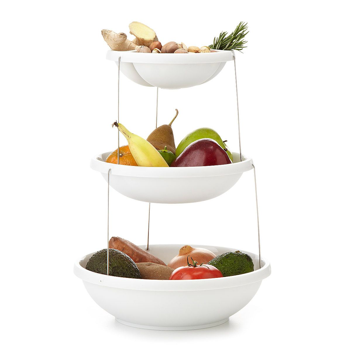 Twist Fold 3 Tiered Bowl | Apartment kitchen, Nest and Bowls