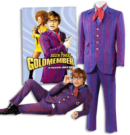 Sell Auction Mike Myers Austin Powers Worn Costume At Nate D Sanders Mike Myers Austin Powers Austin Powers Austin