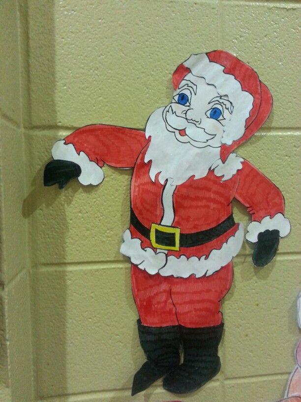 Santa at Daisy sacc