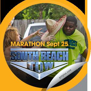Steffie Doll S South Beach Tow Marathon On 9 25 13 Sticker Getglue South Beach Towing Beach