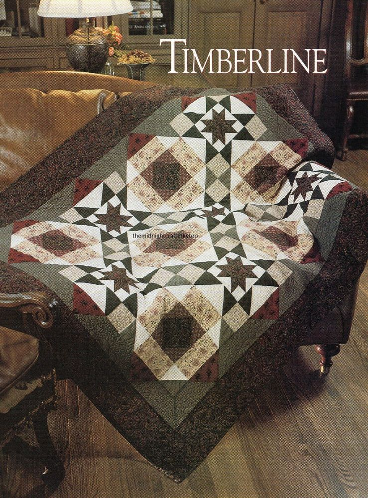 Timberline Quilt Pattern Pieced BH | Masculine Quilts | Pinterest ... : timberline quilt - Adamdwight.com