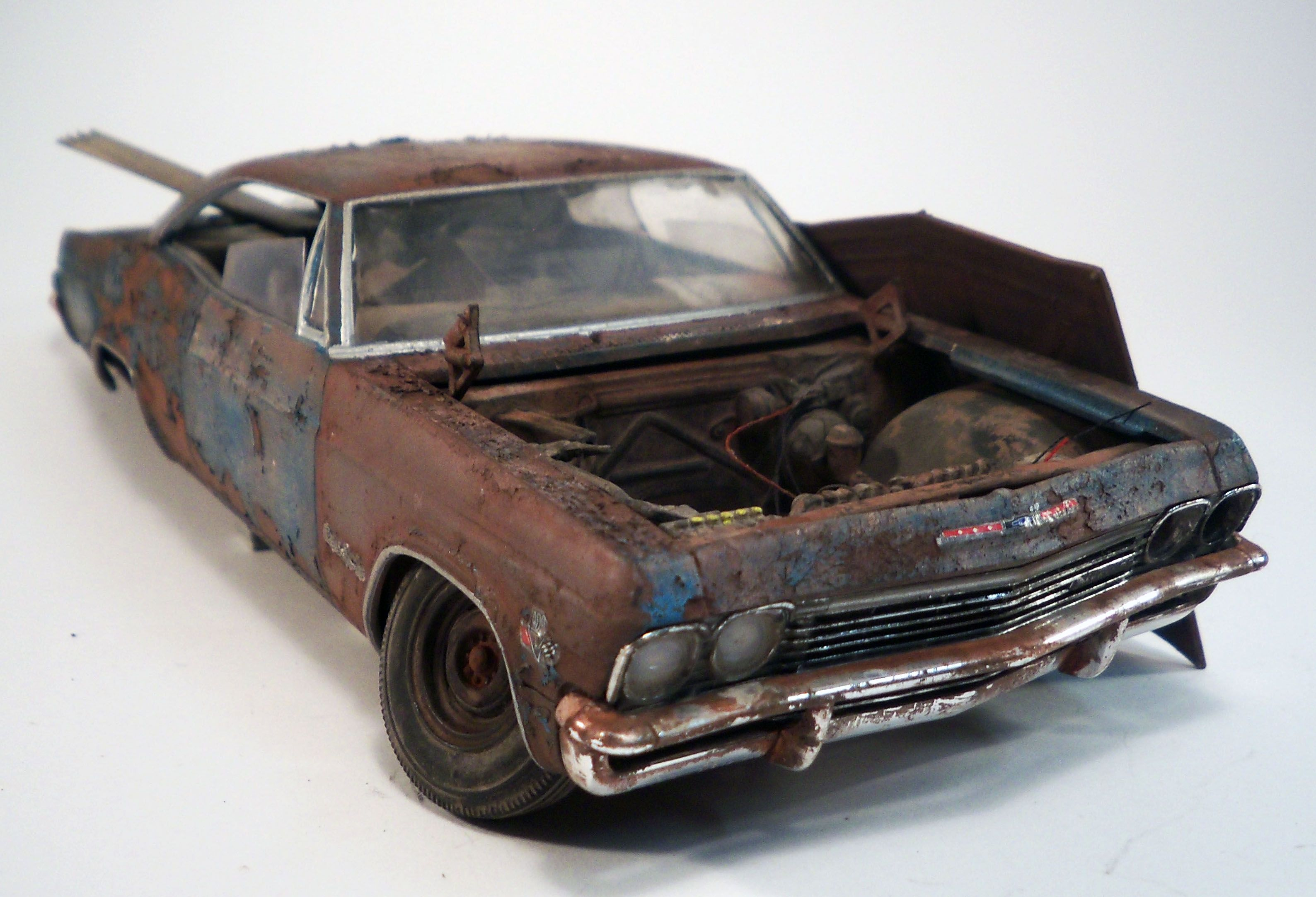 Barn Finds Model Car Automotive Art Modeling Models