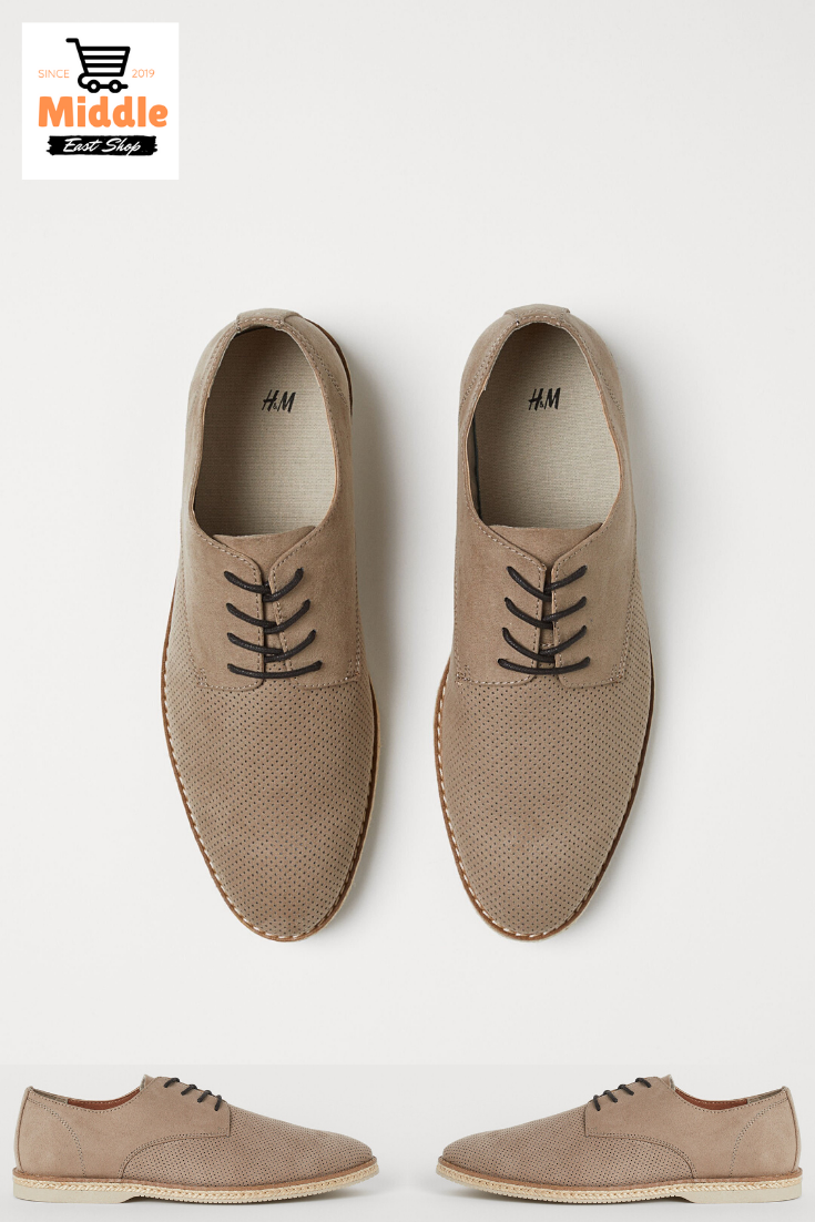 حذاء ديربي بنقوش مثقوبة Sneaker Dress Shoes Derby Shoes Dress Shoes Men