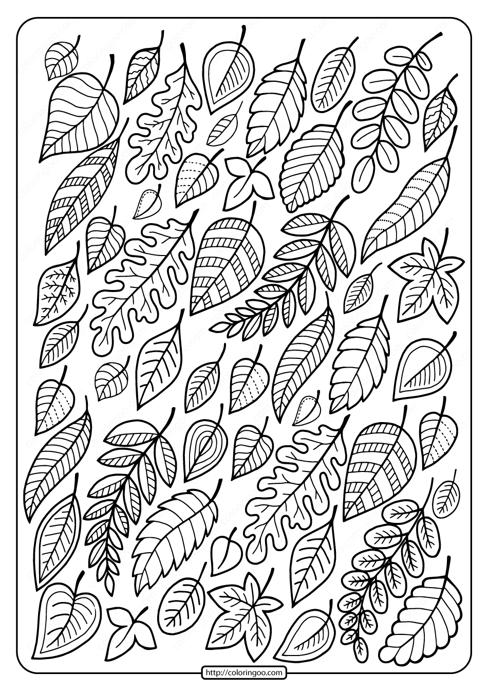 Free Printable Falling Leaves Coloring Page Leaf Coloring Page Fall Coloring Sheets Fall Coloring Pages