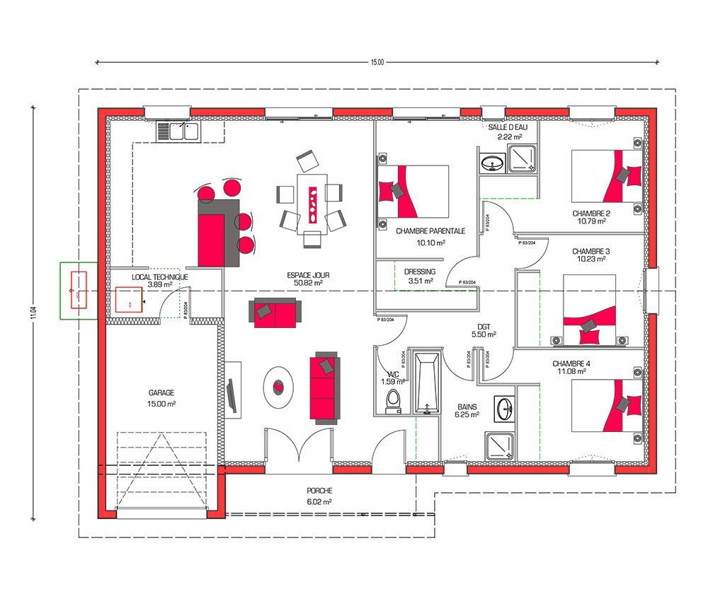 Fabuleux Couleurs Villa vous propose la Villa Galane, moderne  BF39