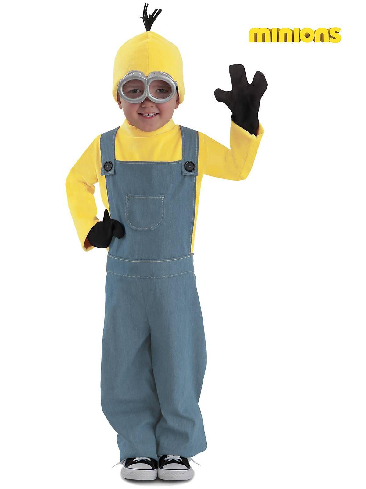 Minion Bob Boys Fancy Dress Despicable Me Movie Film Kids Childs Costume Outfit