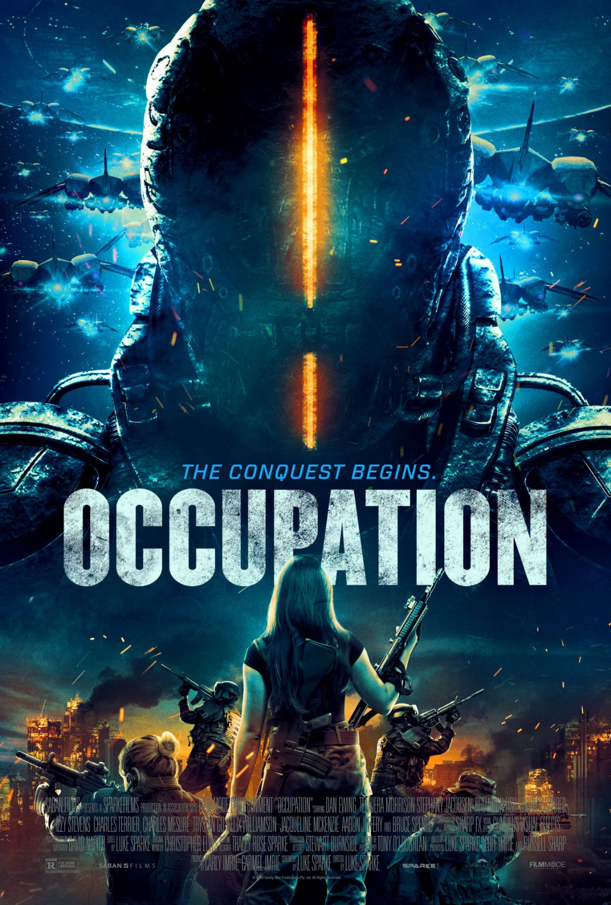 Occupation US movie trailer and poster https//teaser