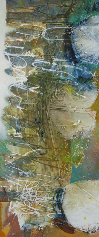 Instinto t nica mixta tela 85 x 200 cm pinturas - Pintura instinto ...
