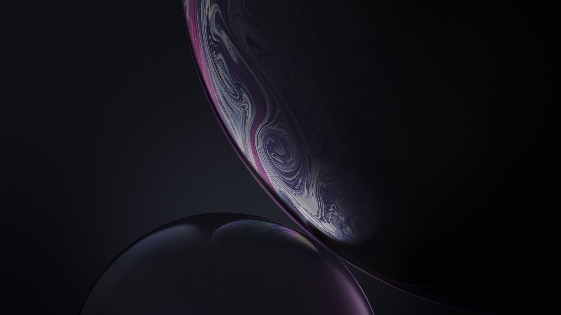 Bubbles Gray Iphone Xr Ios 12 Stock Hd Apple Logo Wallpaper Laptop Wallpaper Desktop Wallpapers Wallpaper