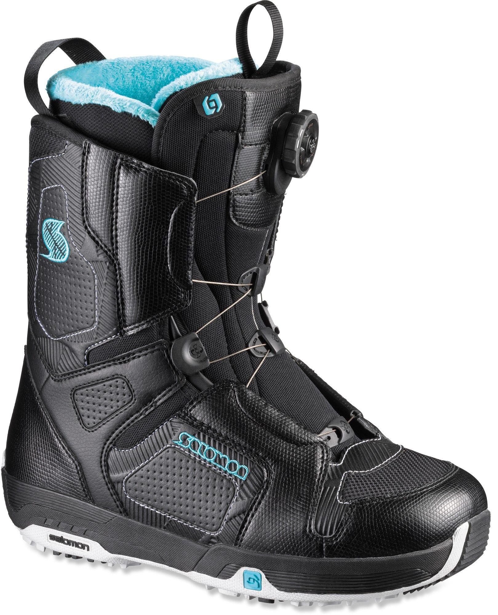 Salomon Pearl Boa Snowboard Boots Women S 2010 2011 Free Shipping At Rei Com Boots Snowboard Boots Womens Boots