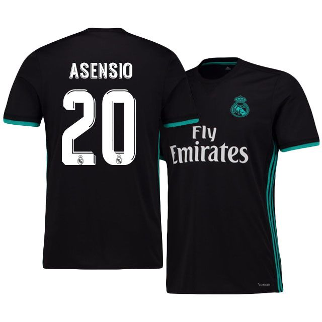 e876ddf32 Real Madrid Jersey 17-18 marco asensio Away Shirt