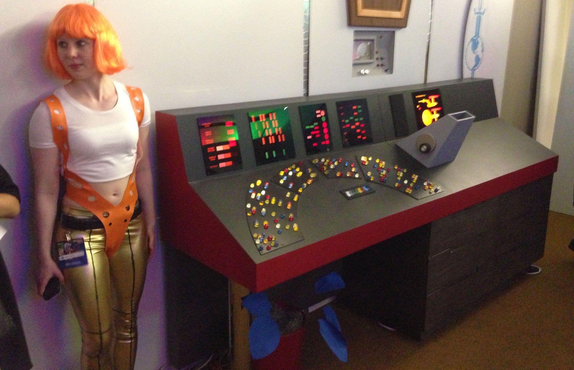Building a Classic Star Trek Control Panel Star trek