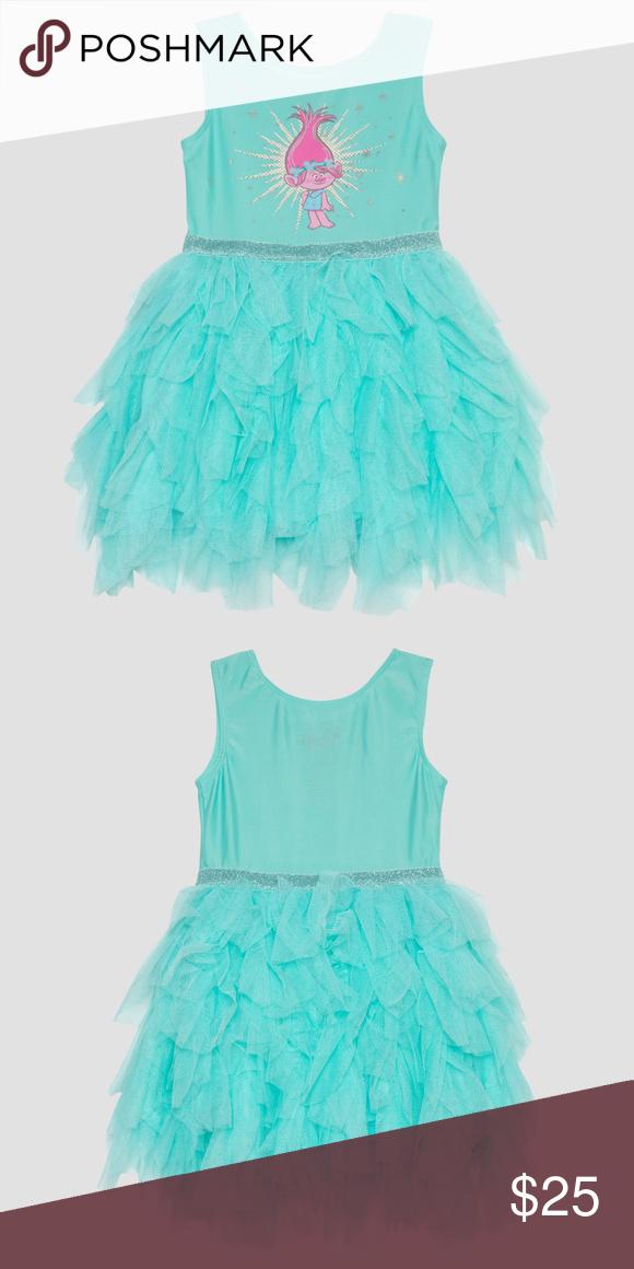42eb7bddb64e2 Trolls Poppy Ballerina Dress Toddler Girl Pull-on design makes it easy to  put on
