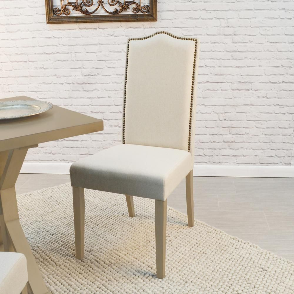 Cool Romero Cream Linen Parsons Dining Chair Products Parsons Ncnpc Chair Design For Home Ncnpcorg