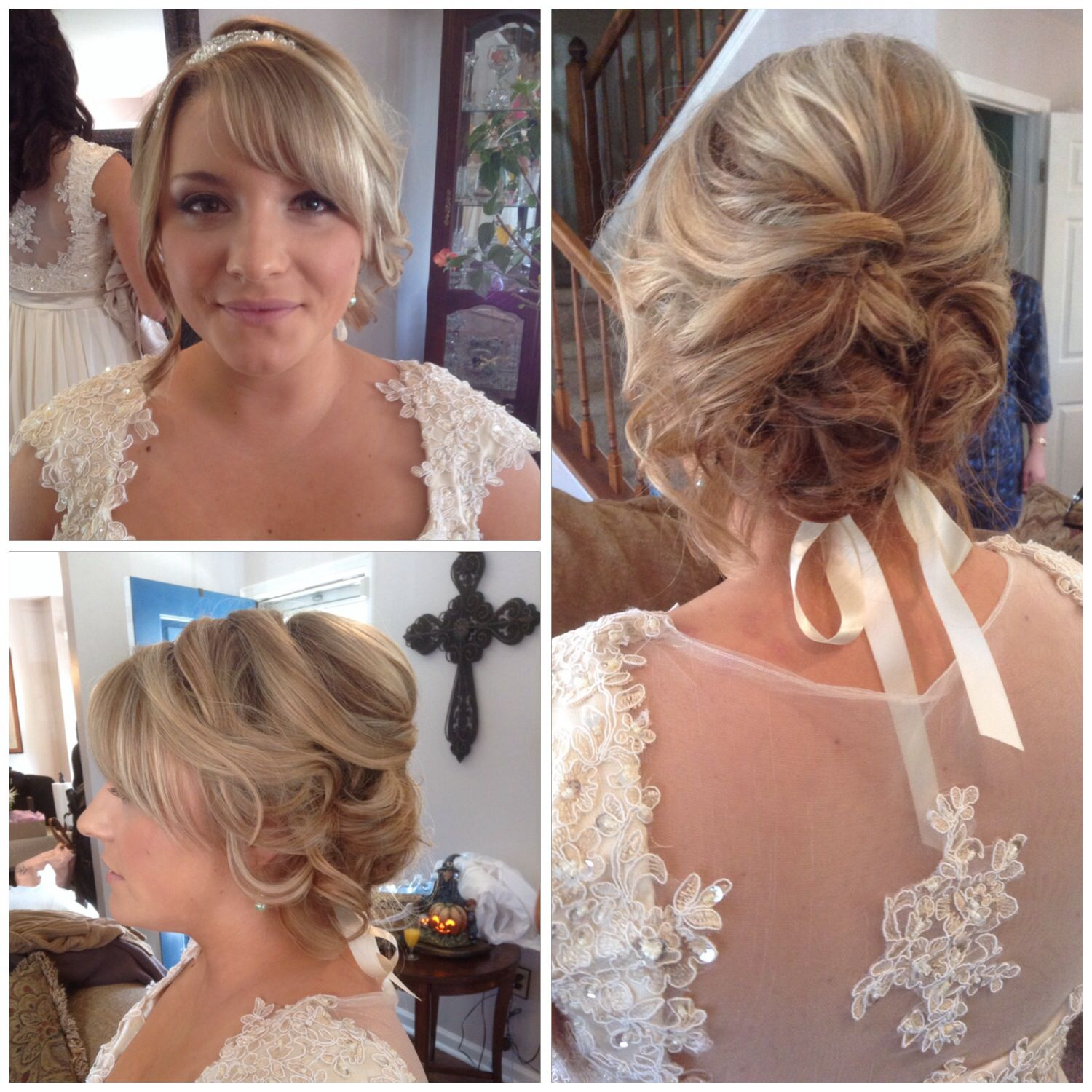 Bridal hair and makeup by nancy caroline bridal styling check out