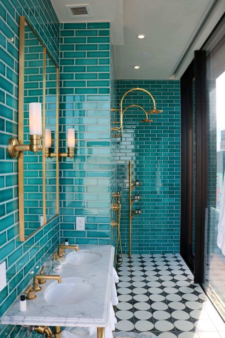 Williamsburg Hotel ... | Moroccan Bathroom Ideas | Moroccan Decor | Moroccan Bathroom Decor |...