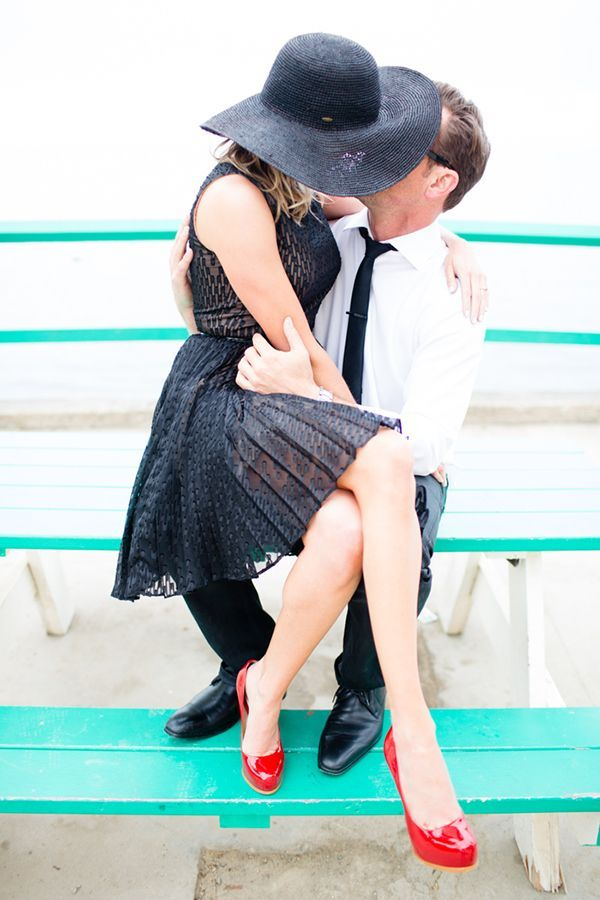 Inspired by This Catalina Island Engagement | Inspired by This Blog (Site button) Contrast. Mystery.