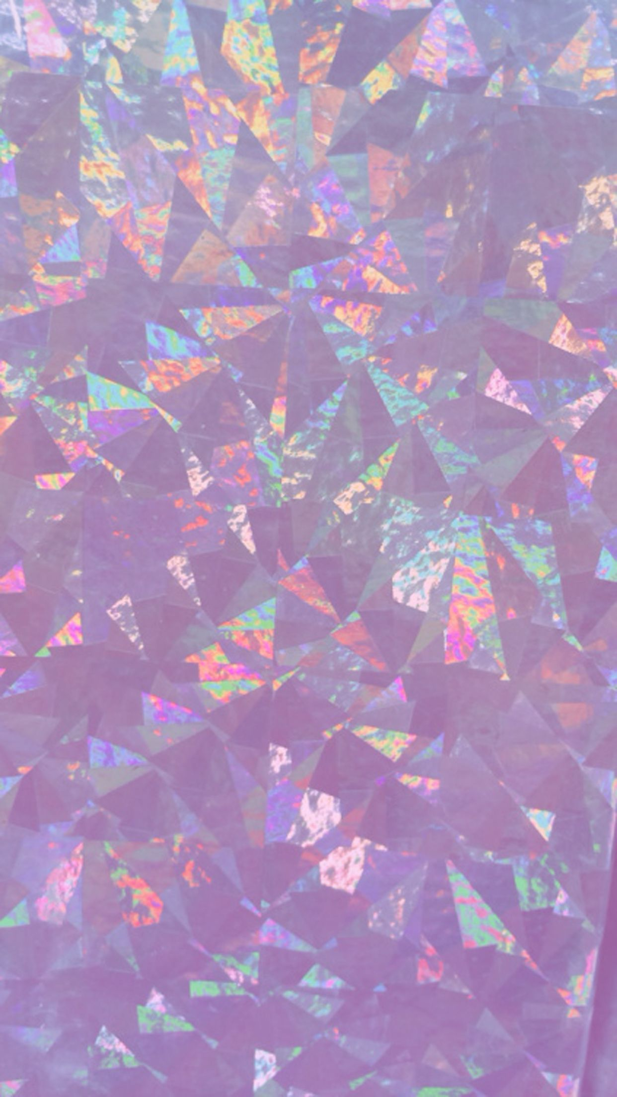 Iridescent Holographic Wallpaper, iPhone, Android, HD