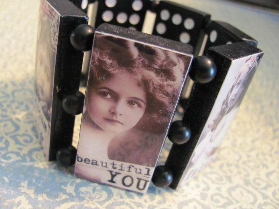 INNER BEAUTY  Domino Cuff  Bracelet by SquareWear on Etsy, $24.99