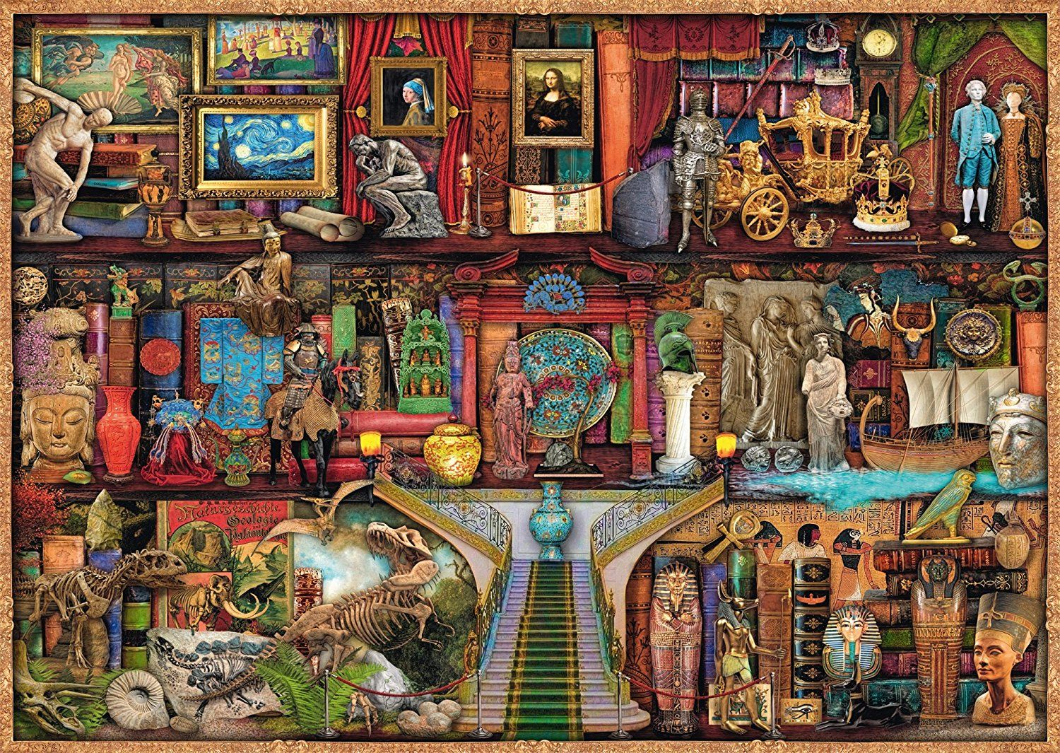 19827 Ravensburger Jigsaw Puzzle The Curious Cupboard No.6 1000 Pieces Age 12+