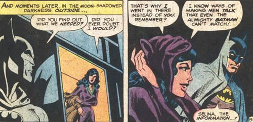 Batman and Catwoman from Batman (v1) #324