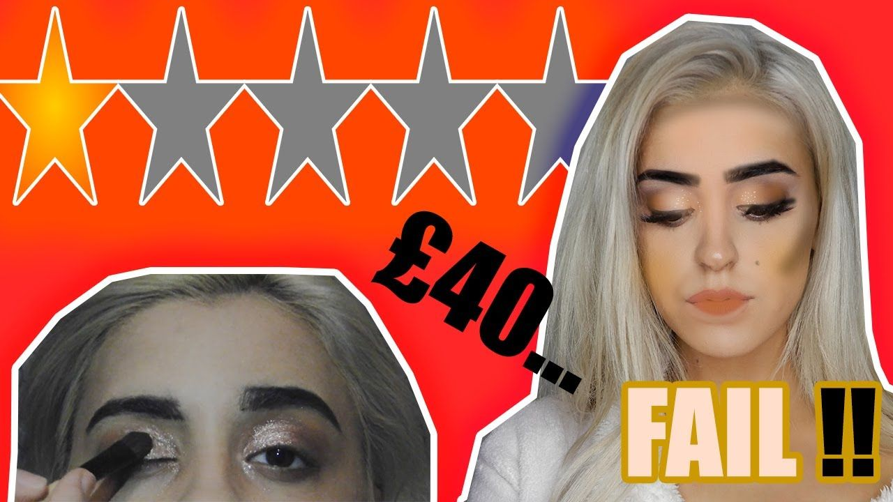 I WENT TO THE WORST REVIEWED MAKEUP ARTIST IN MY CITY | YOUTUBE in